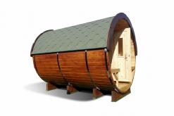 Sauna barrel 2.4 m - Pinewood