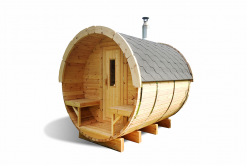 Sauna barrel 3.0 m - Pinewood