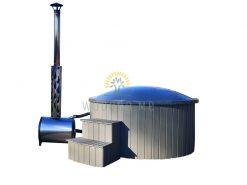 Fiberglass hot tub Ø 1.8/2,0 m