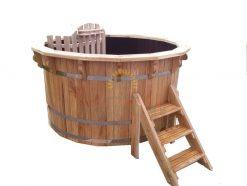 Plastic hot tub