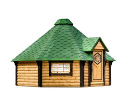 Camping cabin 14.9 m²