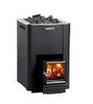 """Woodburning stove """"Harvia SL20"""" 24.1kw (outside firewood feeding)"""