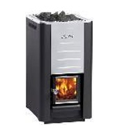 """Wood burning Stove  """"Harvia 26 PRO"""" 26.6 kW (inside firewood feeding)"""