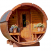 Sauna barrel 2.5 m Ø 2.2