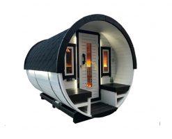 Sauna barrel 3 m