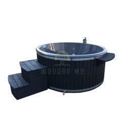 Wellness hot tub 1.80/2.00m (Outside heater)