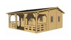 Summerhouse IRIS 6 m x 6 m; 44 mm