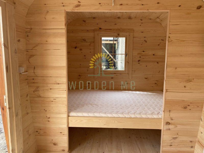 Double bed  210cm x 140 cm